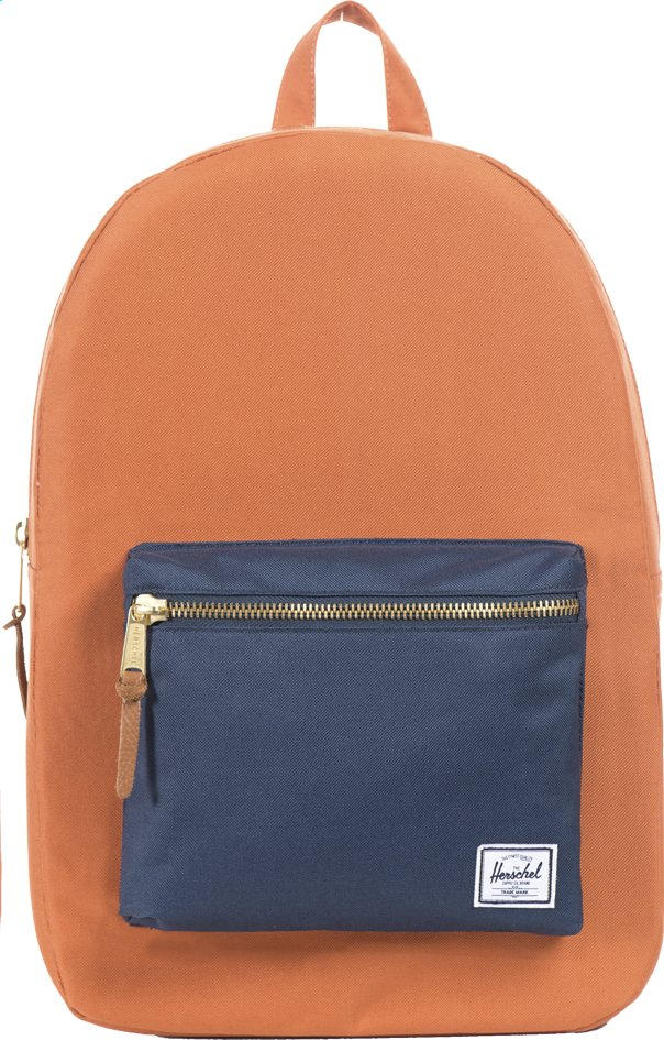Afbeelding van Herschel rugzak Settlement Carrot/Navy from ColliShop