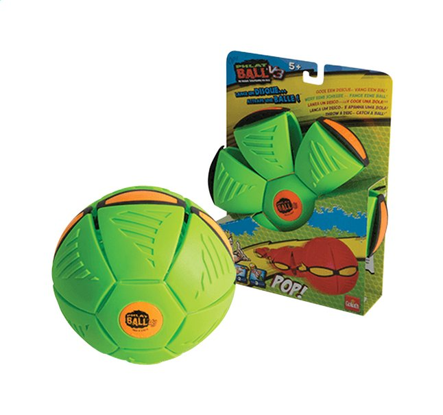 Image pour Goliath frisbee Phlat Ball V3 vert/orange à partir de ColliShop