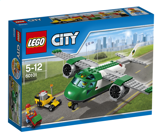 Image pour LEGO City 60101 L'avion cargo à partir de ColliShop