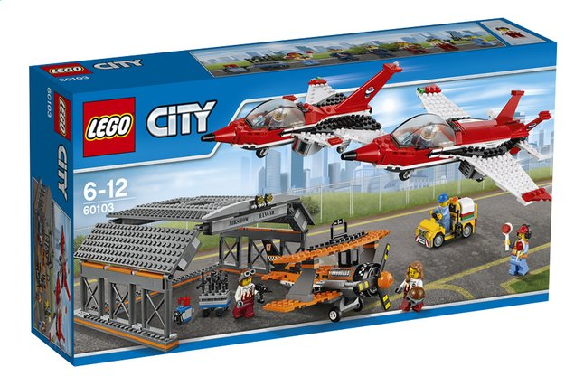 Image pour LEGO City 60103 Le spectacle aérien à partir de ColliShop