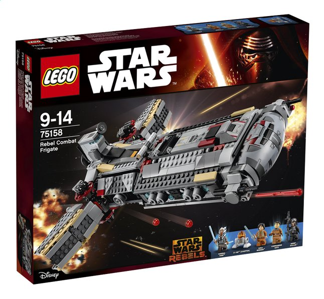 Afbeelding van LEGO Star Wars 75158 Rebel Combat Frigate from ColliShop