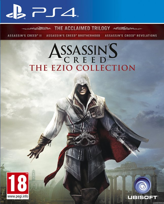 Afbeelding van PS4 Assassin's Creed: The Ezio Collection ENG/FR from ColliShop