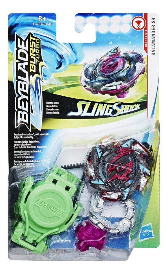 Image pour Beyblade Burst Turbo SlingShock Starter Pack - Salamander S4 à partir de ColliShop