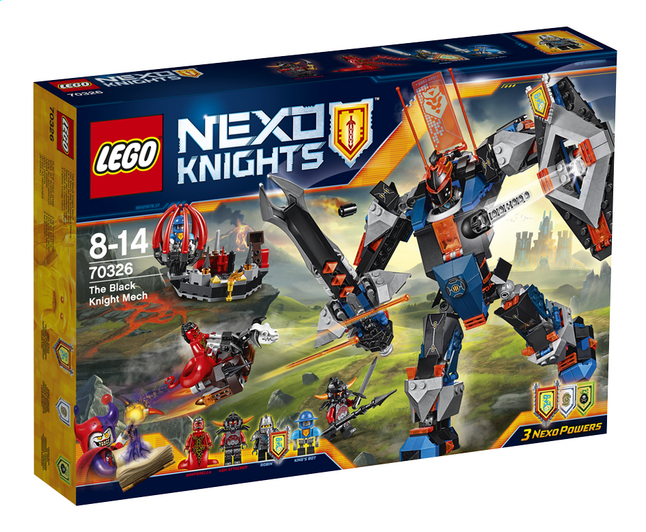 Afbeelding van LEGO Nexo Knights 70326 Ridder Mech from ColliShop