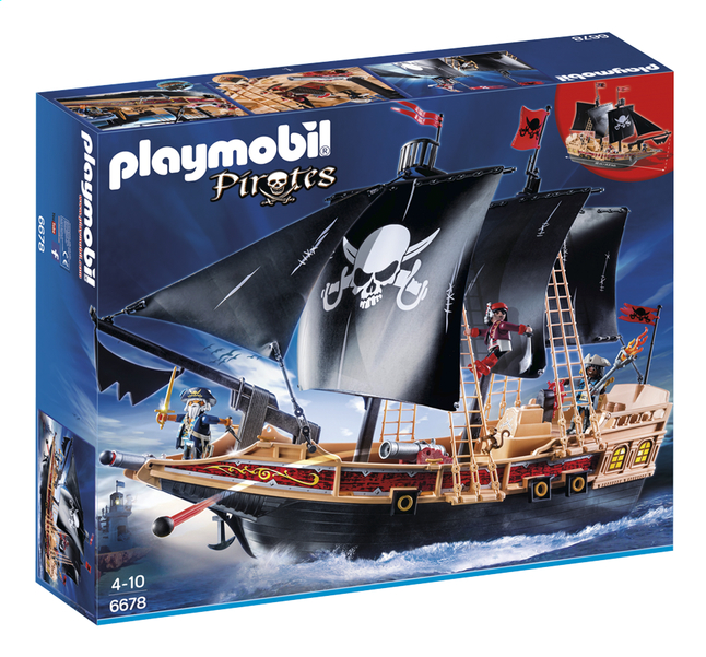 Afbeelding van Playmobil Pirates 6678 Piraten aanvalsschip from ColliShop