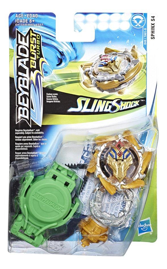 Image pour Beyblade Burst Turbo SlingShock Starter Pack - Sphinx S4 à partir de ColliShop