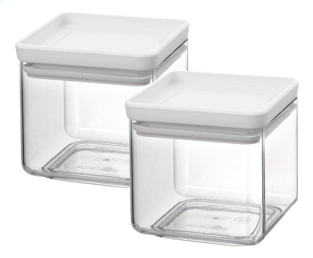 Brabantia 2 boîtes à provisions Tasty+ light grey 0,7 l