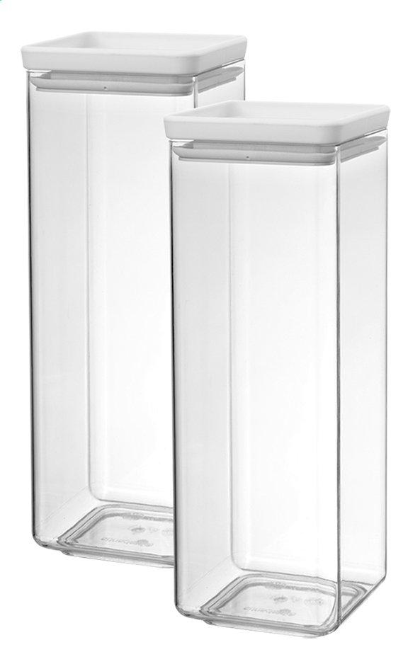Image pour Brabantia 2 boîtes à provisions Tasty+ light grey 2,5 l à partir de ColliShop