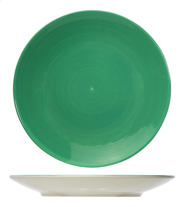 Image pour Cosy & Trendy 6 assiettes Invertida Ø 26 cm vert à partir de ColliShop