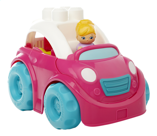 Afbeelding van Mega Bloks Lil' Vehicles Catie Convertible from ColliShop