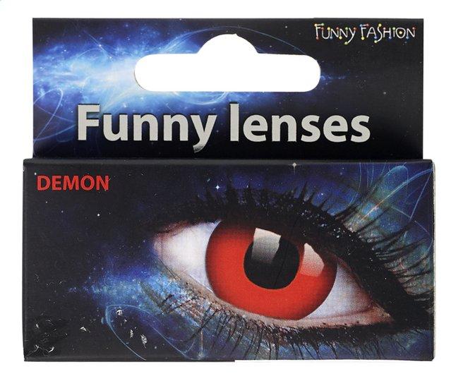 Afbeelding van Funny Fashion daglenzen Demon from ColliShop