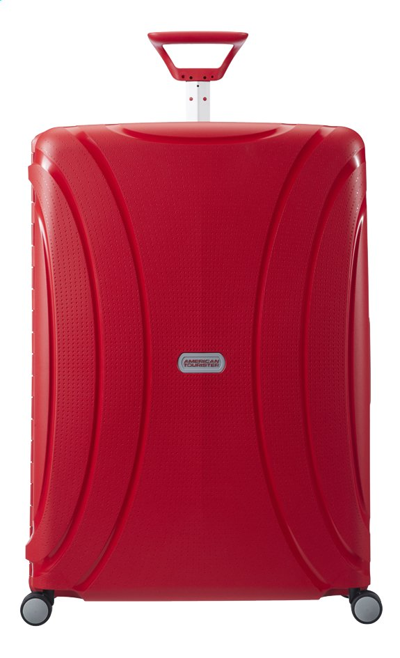 Afbeelding van American Tourister Harde reistrolley Lock'N'Roll Spinner energetic red from ColliShop