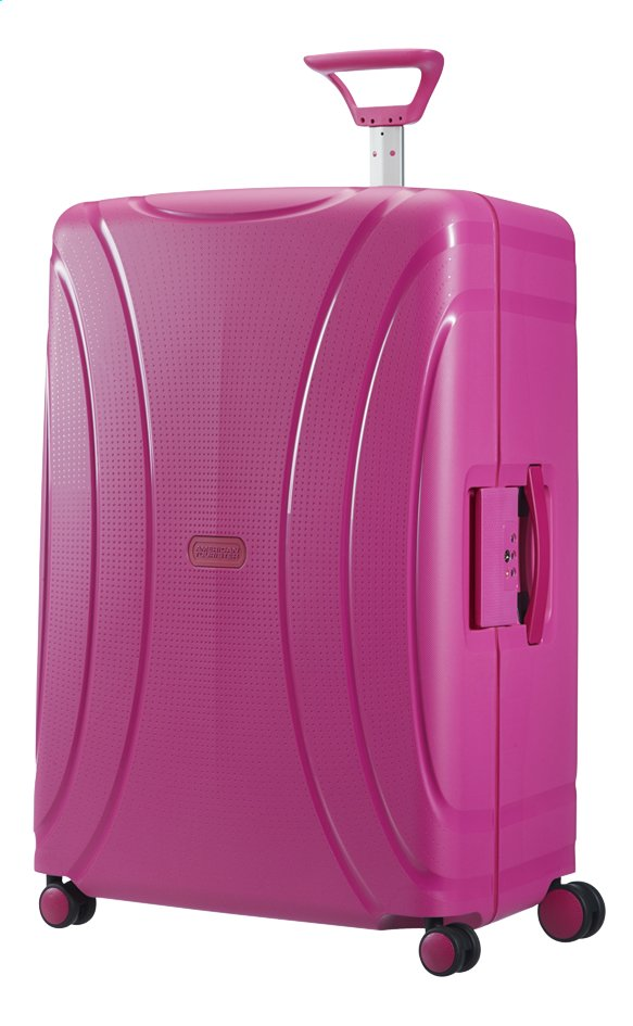 Afbeelding van American Tourister Harde reistrolley Lock'N'Roll Spinner dynamic pink 75 cm from ColliShop