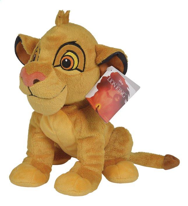 Afbeelding van Nicotoy pluche Disney de Leeuwenkoning Simba 25 cm from ColliShop