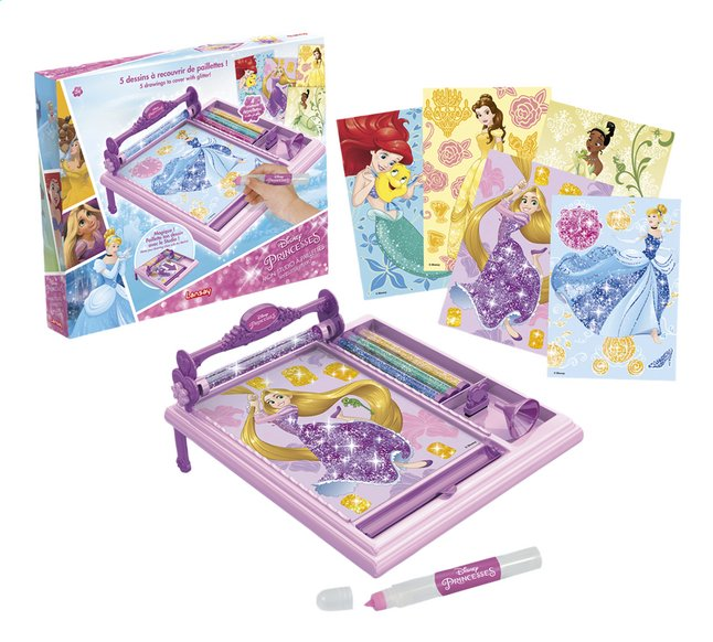 Afbeelding van Lansay Disney Princess Mijn glitterstudio from ColliShop