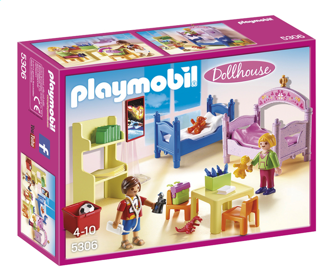 Afbeelding van PLAYMOBIL Dollhouse 5306 Kinderkamer met stapelbed from ColliShop