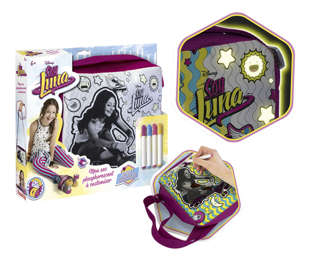 Image pour Lansay Disney Soy Luna Mon sac phosphorescent à customiser à partir de ColliShop