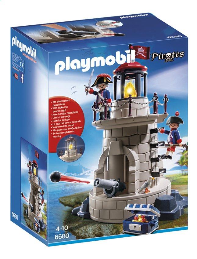 Afbeelding van Playmobil Pirates 6680 Soldaten met vuurtoren from ColliShop