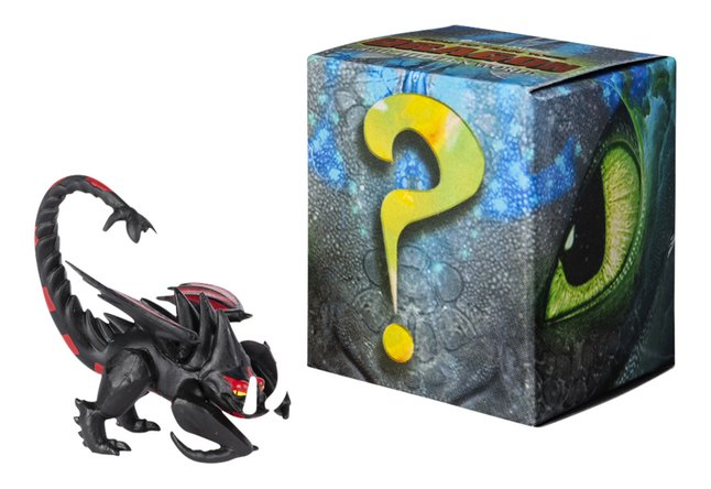 Figuur How to Train Your Dragon 3 Mystery Dragons - Hookfang zwart