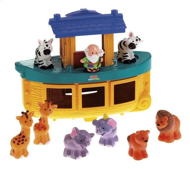 Afbeelding van Fisher-Price Little People speelset Noah's Ark from ColliShop