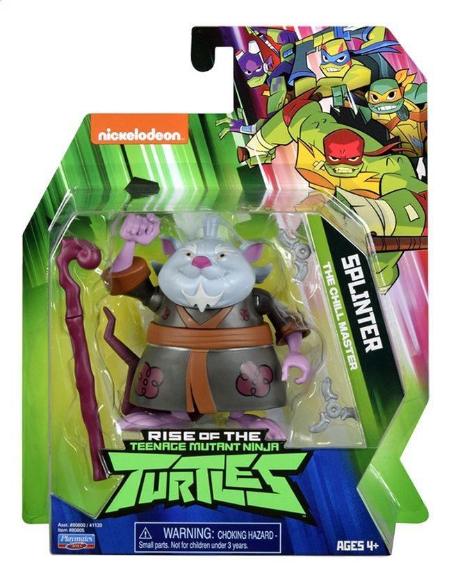 Afbeelding van Rise of the Teenage Mutant Ninja Turtles figuur Splinter from ColliShop