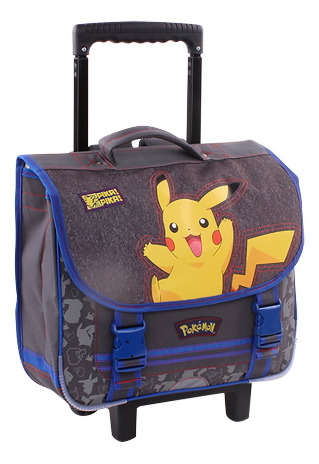 Afbeelding van Trolley-boekentas Pokémon Pikachu 38 cm from ColliShop