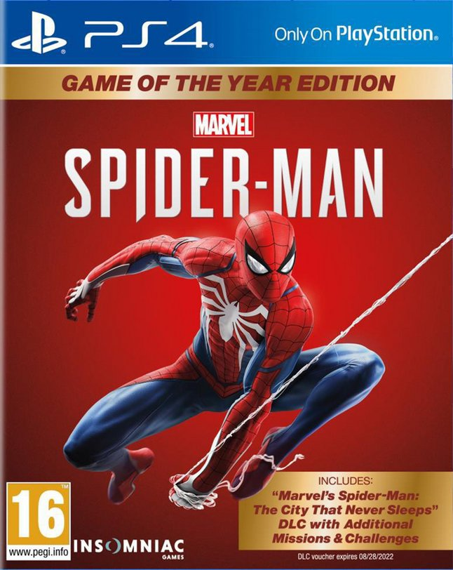 PS4 Marvel Spider-Man Game of The Year FR/ANG