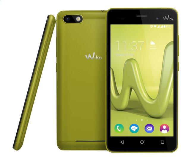 Afbeelding van Wiko smartphone Lenny 3 Lime from ColliShop