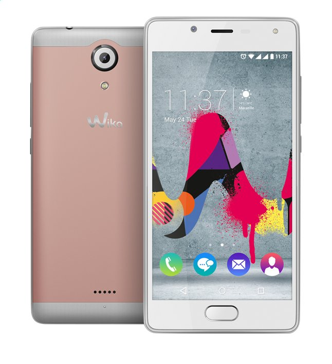 Afbeelding van Wiko smartphone U Feel Lite Roze from ColliShop