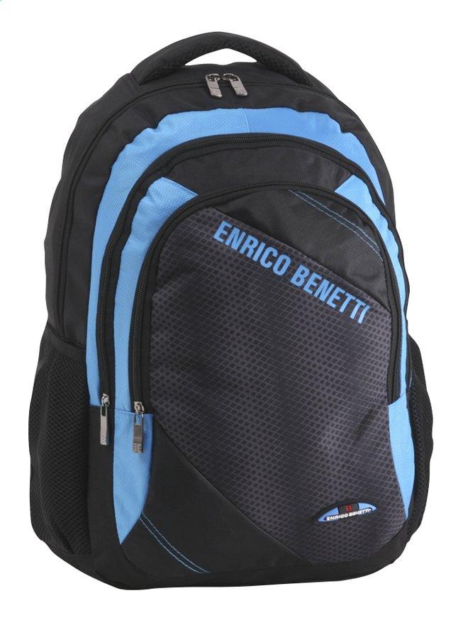 Image pour Enrico Benetti sac à dos Black/Kobalt à partir de ColliShop