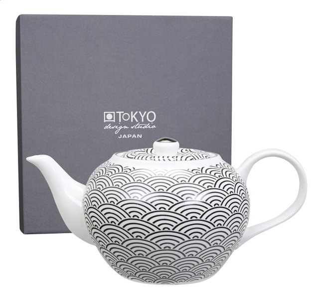 Afbeelding van Tokyo Design Studio Theepot Nippon Black Wave 1.2 l from ColliShop