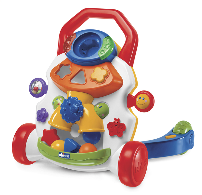 Afbeelding van Chicco loophulpje Baby Steps Activity Walker wit from ColliShop