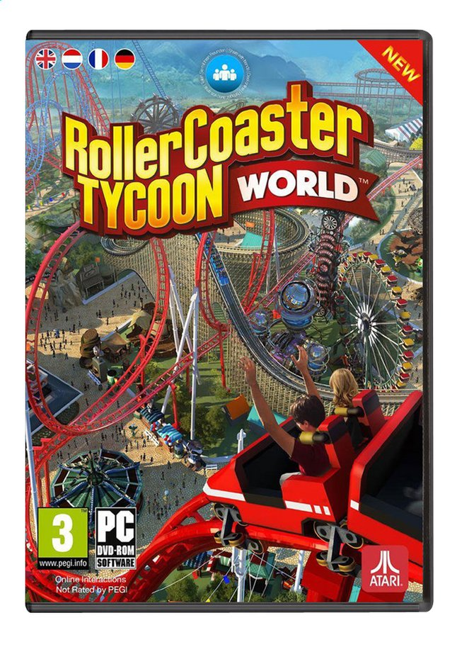 Afbeelding van Pc Roller Coaster Tycoon World  (Windows ) ENG/FR from ColliShop