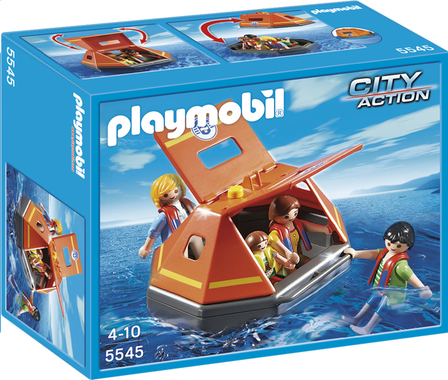Image pour Playmobil City Action 5545 Naufragés avec radeau de survie à partir de ColliShop