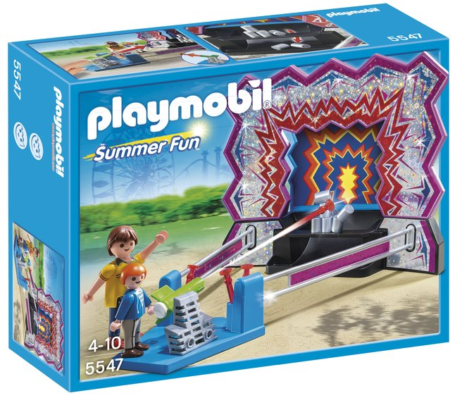Image pour Playmobil Summer Fun 5547 Stand de Chamboule-tout à partir de ColliShop