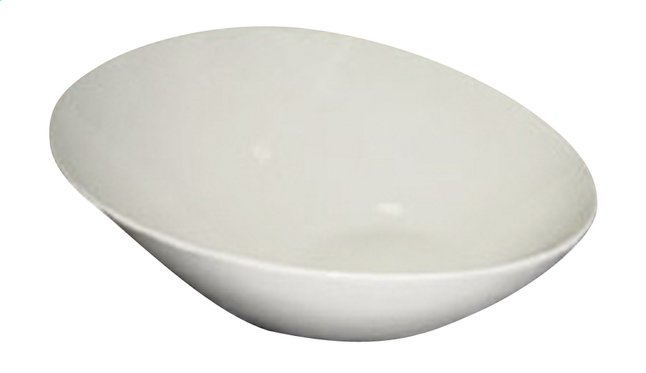 Afbeelding van Royal White 3 schuine kommen Diameter 22 cm from ColliShop