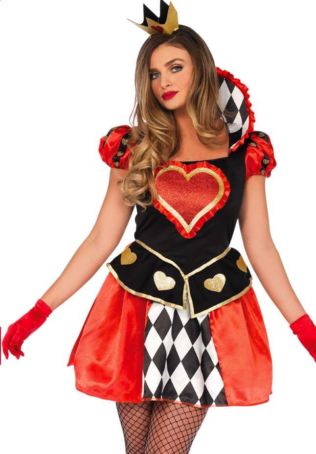 Afbeelding van Verkleedpak Queen of Hearts S from ColliShop
