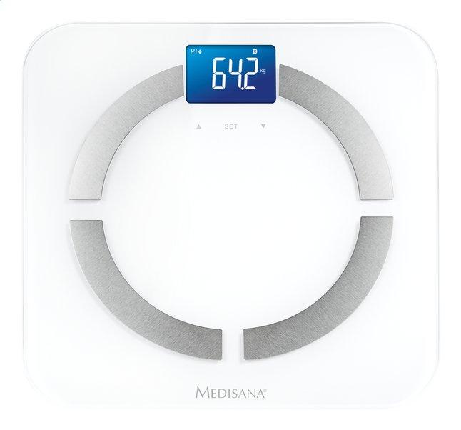 Medisana Pèse-personne BS 430 Connect blanc/gris argenté