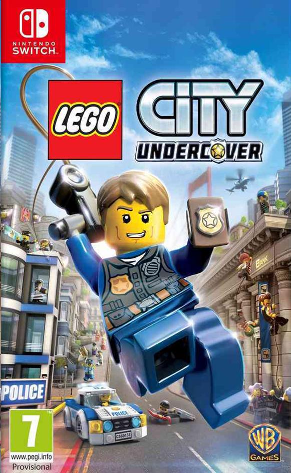 Image pour Nintendo Switch LEGO City Undercover FR/NL à partir de ColliShop