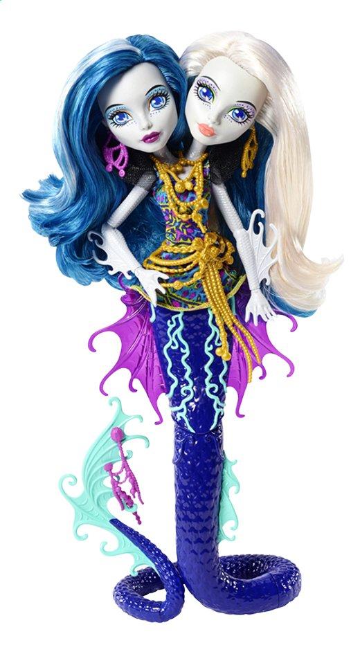 Afbeelding van Monster High mannequinpop Groot Griezelrif Peri & Pearl from ColliShop