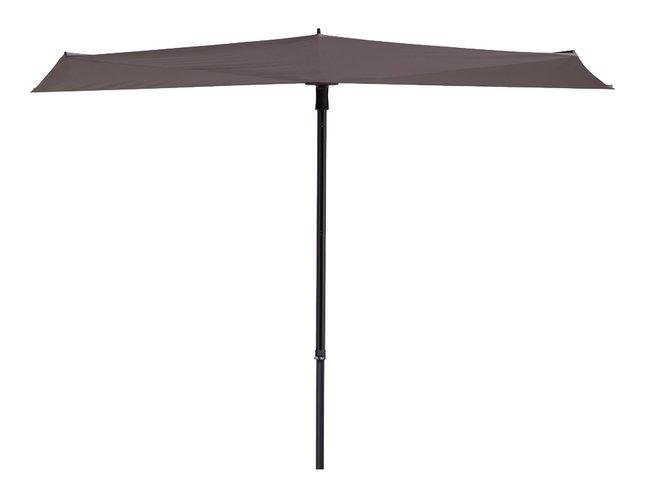Image pour Madison parasol de balcon Sun Wave Ø 3 m taupe à partir de ColliShop