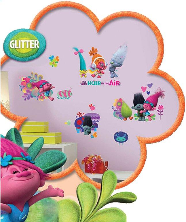 Image pour Sticker mural Trolls avec pailettes à partir de ColliShop