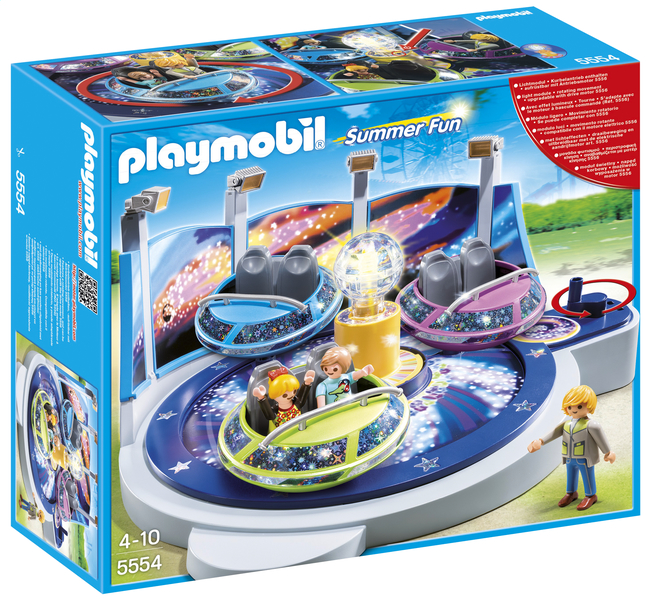 Afbeelding van Playmobil Summer Fun 5554 Breakdance met lichteffecten from ColliShop