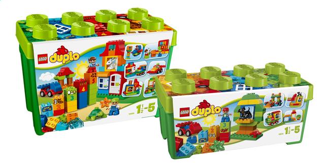 Afbeelding van LEGO DUPLO 10580 Deluxe bouwdoos + 10572 Alles in één groene doos from ColliShop