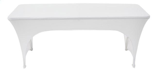 Image pour Housse stretch pour table blanc L 180 x Lg 75 cm à partir de ColliShop