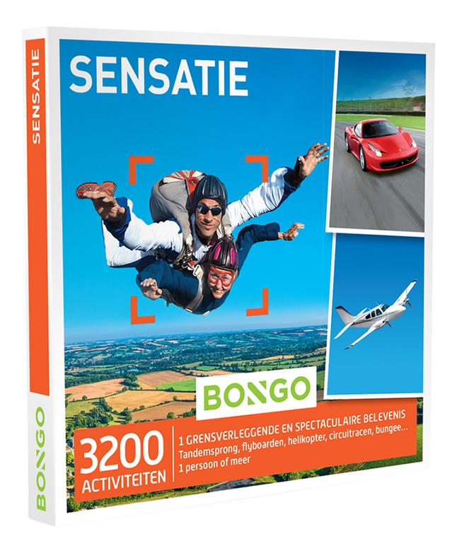 Afbeelding van Bongo cadeaubon Sensatie from ColliShop