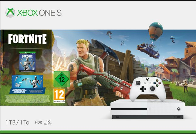 Afbeelding van Xbox One S console 1TB + Fortnite from ColliShop