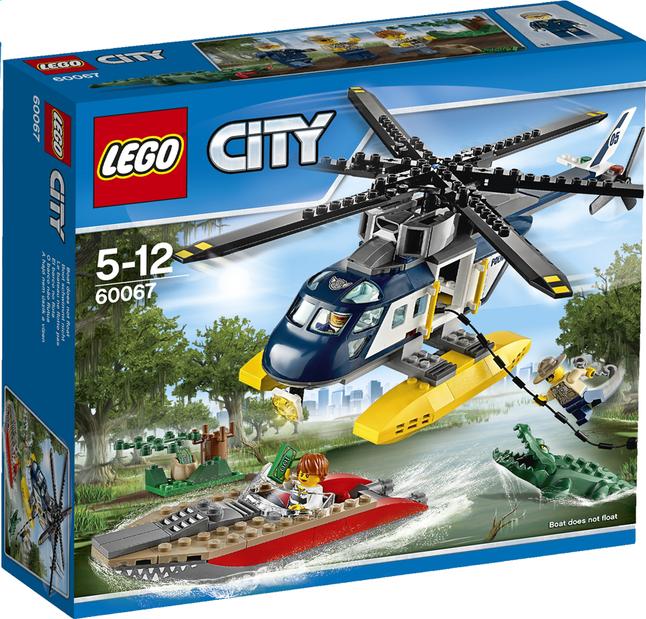 Afbeelding van LEGO City 60067 Helikopter achtervolging from ColliShop