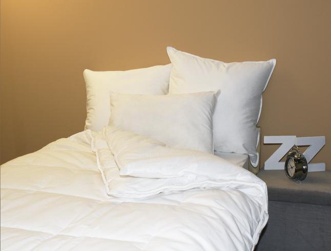 Afbeelding van Sleeping synthetisch 4-seizoensdekbed Robijn 200 x 220 cm from ColliShop