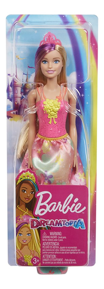 Barbie mannequinpop Dreamtopia Prinses met bloemetjesjurk